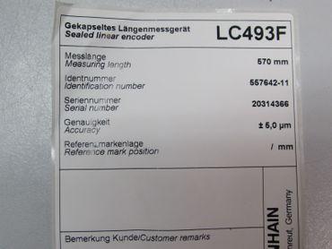 Heidenhain LC493F 570mm 5,0 Mikrometer Id.Nr. 557642-11 OVP – Bild 5