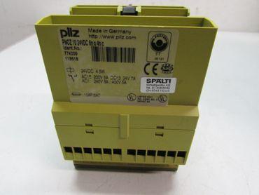 PILZ PNOZ 10 24VDC 6n/o 4n/c ID No. 774009 PNOZ10 24V Sicherheitsrelais – Bild 2