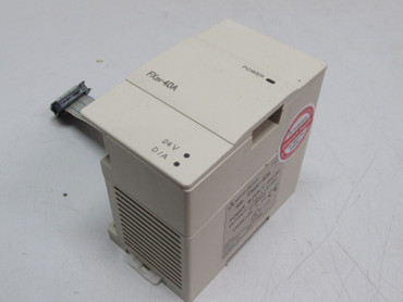Mitsubishi FX2N-4DA Power Supply Modul10VDC 20mA Version 1.10 – Bild 1