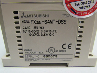 Mitsubishi FX2N-64MT-DSS Programmable Controller 24VDC 35W Top Zustand – Bild 2