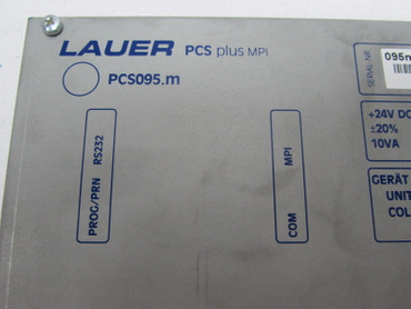 Lauer Panel PCS plus MPI PCS095.m PG 195.203.3 Top Zustand tested – Bild 3