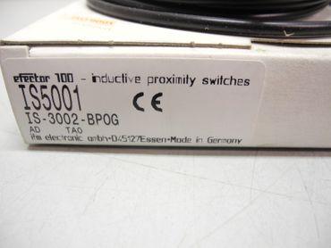 IFM EFECTOR IS-3002-BP0G IS5001 INDUCTIVE PROXIMITY SWITCH SENSOR Unbenutzt OVP – Bild 3