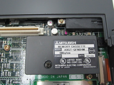 Mitsubishi GRAPHIC OPERATION TERMINAL A985GOT-TBA-EU + MEMORY A9GT-QFNB4M TESTED – Bild 4