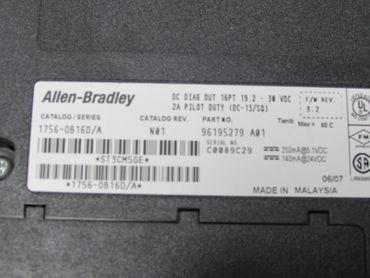 Allen Bradley 1746-OB16D/A DC DIAG OUT 16PT 19.2-30VDC Top Zustand – Bild 3