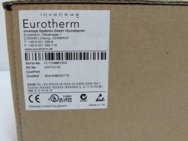EUROTHERM 32h8 32h8I Temperaturregler CustRef 654/4500285779 UNUSED OVP – Bild 2