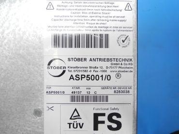 Stöber Posidyn Servo Drive SDS5008/L 0,75kW + ASP5001/1 DP5000 REA5001 TESTED – Bild 6