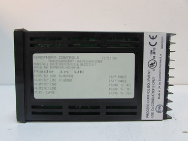 EUROTHERM 808 808/R1/R1/0/0/0/QLS/ (ALGC130) Tag Text 0050019558 UNUSED OVP – Bild 5