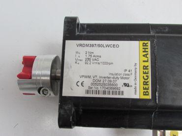 Berger Lahr Stepmotor VRDM397/50LWCEO 2Nm 230 VAC – Bild 3