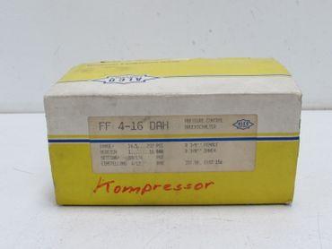 ALCO FF 4 -16 DAH Druckschalter UNUSED OVP – Bild 1