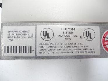 KEB F4 12.F4.S1D-3420 /1.2 400V 6,6KVA 4,0kW + Bediengerät TOP Zustand TESTED – Bild 7