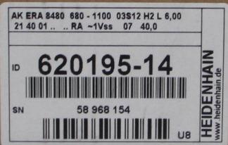 Heidenhain 620195-14 AK ERA 8480 680-1100 03S12 H2 L6,00 unused OVP – Bild 3