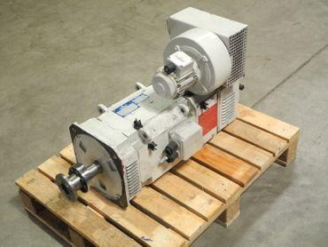 Baumüller DC Motor GNAFG 112 SV 400V 20A 6,6kW 1610 Rmin Bremse Lenze 12 24V – Bild 1