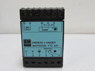 Endress + Hauser E+H FTC 420 NIOTESTER  tested Top Zustand – Bild 2