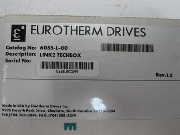 Eurotherm 6055-L-00 REV. 1.5 SSD DRIVES unused OVP – Bild 5