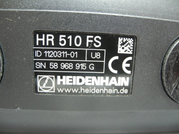 HEIDENHAIN Elektronik Handrad HR 510 FS ID 1120311-01 U8 buttons cover missing – Bild 3