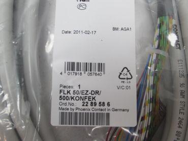 Phoenix Contact  FLK 50/EZ-DR/500/KONFEK Anschlusskabel unused – Bild 2