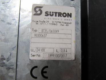 Sütron Panel BT 35 BT35C /065049 DÜRR BEHR + Interbus Modul   – Bild 4