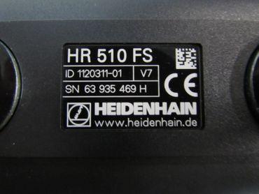 HEIDENHAIN Elektronik Handrad HR 510 FS ID 1120311-01 OVP – Bild 5