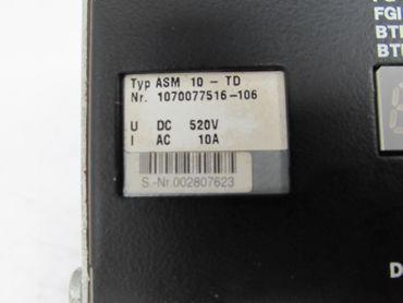 Bosch ASM 10-TD 1070077516 520V 10A Servo Drive Modul Top Zustand – Bild 4