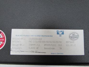 Elau Servo Drive PMC-2 PMC-2/11/05/000/00/01/01/00/00 Softw.:V10.09.03 3x400V 5A – Bild 3