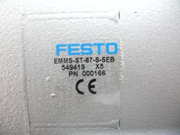 Festo Schrittmotor EMMS-ST-87-S-SEB Servomotor 549419 unbenutzt – Bild 5