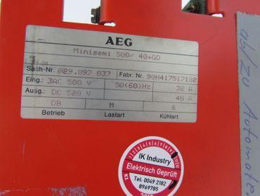 AEG Minisemi 500/40+GO Tested – Bild 6