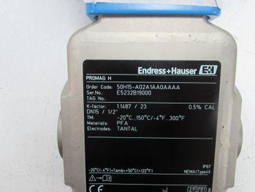 ENDRESS + HAUSER 50H15-A02A1AA0AAAA PROMAG H & PROMAG 50 unused OVP – Bild 7