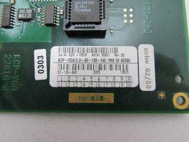 KUKA KVGA-Karte 2.0-00-109-040 KCP-VGA 2281A-0 KCP-VGA/2.0-00-109-040 REV.03  – Bild 4