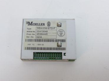 Klöckner Moeller DE4-IOM-STD-F Ein Ausgabe Modul Artikel Nr 00410649 Top Zustand – Bild 2