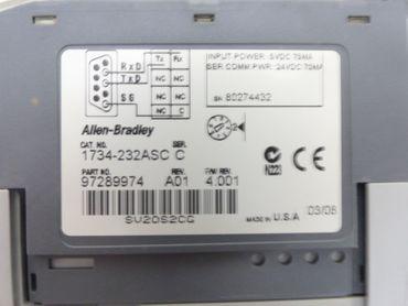Allen Bradley 1734-232ASC SER.C + 1734-MB SER. A Top Zustand – Bild 4