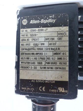 Allen Bradley 1326AS-B330H-21 Servomotor P/N 163570  – Bild 4