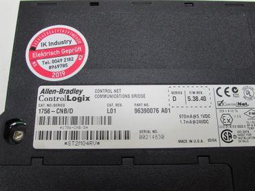 Allen Bradley  1756-CNB/D Control Net Communications Bridge Tested Top Zustand – Bild 4