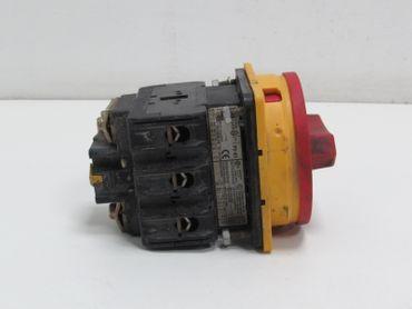 Klöckner Moeller P3-63 6000 V Hauptschalter Lasttrennschalter – Bild 2