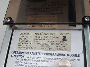 INDRAMAT AC Servo Controller TDM 2.1-30-300-W1-000 MOD5/1X121-002 TESTED  – Bild 4