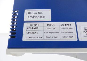 Kollmorgen Servostar CD CR03302 230VAC 1,1 KVA 3 amps/phase Top Zustand – Bild 4