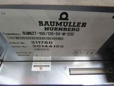 Baumüller BUM62T-100/130-54-M BUM62T-100/130-54-M-030 311760  3x100A TESTED – Bild 5