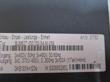 Baumüller BUM62T-100/130-54-M 3x100A Artikel ID 311760 BUM62T-100/130-54-M-039 – Bild 4