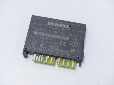 Siemens Simatic SC 6ES7 122-1BB00-0AA0 E-Stand 02 6ES7122-1BB00-0AA0 unbenutzt