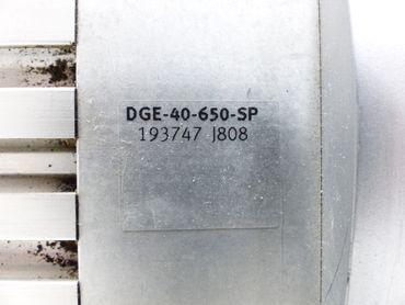 Festo EMMS-AS-70-M-LA-RM Servomotor + Linear Achse DGE-40-650-SP Top Zustand – Bild 4