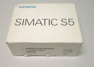 Siemens  S5 100U 6ES5 316-8MA12 Interface Modul Neu Ovp - NEW