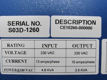 Kollmorgen SERVOSTAR CD CE10260 VERSION 3 pahse CE1260-000000 Top Zustand – Bild 6