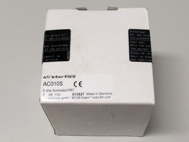 ifm electronicAC010S AS interface AS-i Modul NEU Versiegelt - NEW Sealed