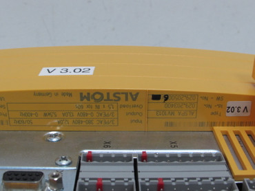 ALSTOM ALSPA MV1013 029.203400 Drive 5.5kW 0-400Hz UNUSED OVP  – Bild 3