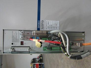 Rexroth Indramat DIAX 03 DKR02 DKR02.1-W200B-B DKR02.1-W200B-BE23-01-FW Servo AC Controller – Bild 3