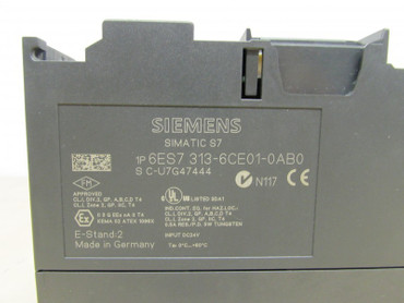 Siemens	SIMATIC S7  6ES7 313-6CE01-0AB0 CPU313C-2DP  DI16/DO16xDC24V – Bild 2