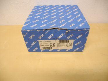 SickSensor CLV410-0010 Software V1.70 Barcodescanner Laser Neu OVP – Bild 1