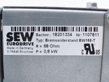 SEW Eurodrive BW168-T 18201334 Bremswiderstand 68Ohm 0,8kW Neuwertig – Bild 4