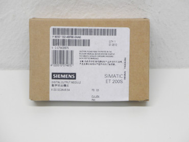 Siemens 6ES7 132-4BF00-0AA0 Digital Outpot Module 8 DO DC24V/,0.5A NEU OVP – Bild 2