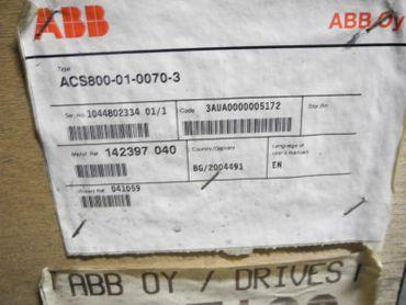 ABB ACS800-01-0070-3 ACS800 Frequenzumrichter 55kw UNUSED OVP – Bild 2
