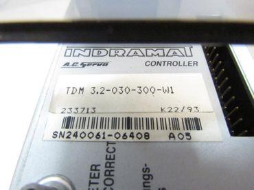 INDRAMAT Ac Servo Controller TDM 3.2-030-300-W1  – Bild 4